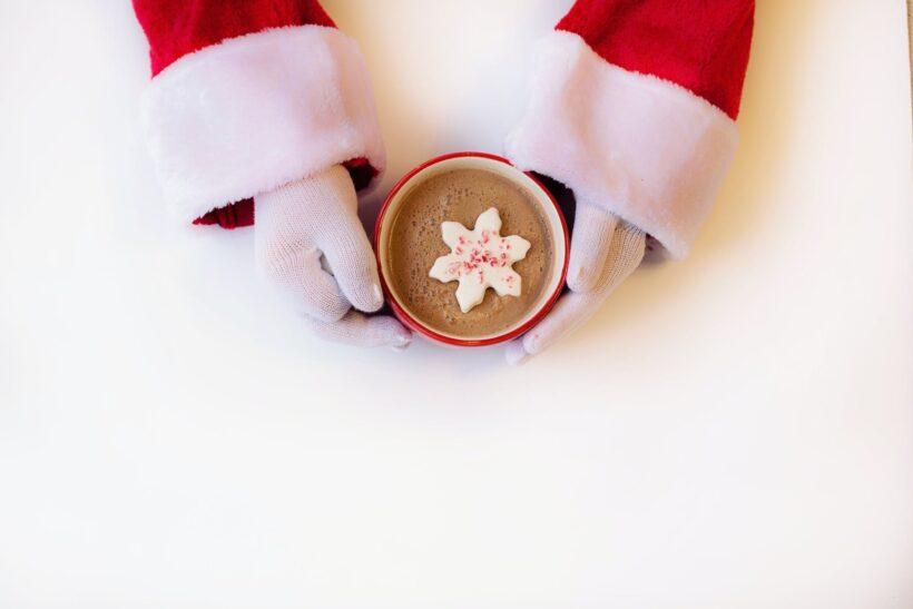 hình ảnh bàn tay ông già Noel