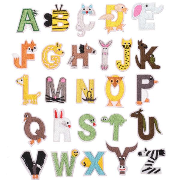 hình ảnh bảng chữ cái tiếng anh bằng con vật