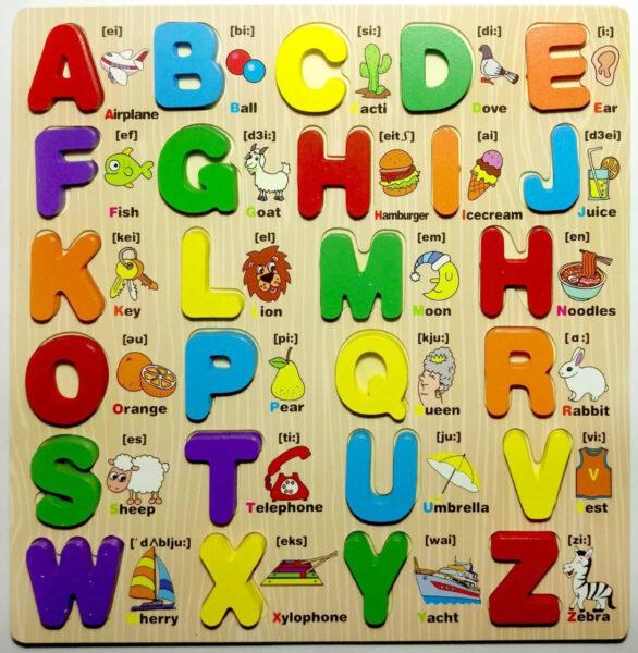 hình ảnh bảng chữ cái tiếng anh cho bé