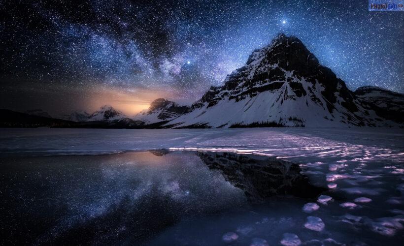 Hình ảnh bầu trời đêm đẹp