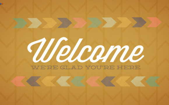 hình ảnh chào mừng welcome we're glad youre here cho powerpoint