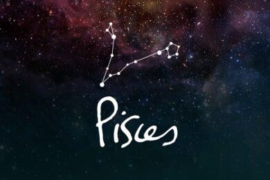Hình ảnh cung Song Ngư trên dải ngân hà