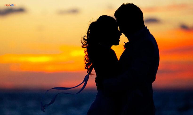 hình ảnh hôn nhau lãng mạn