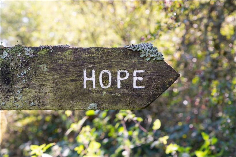 hình ảnh hy vọng chữ hope