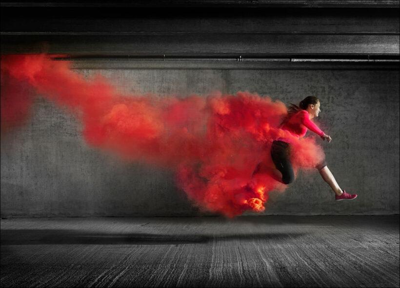 hình ảnh khói tạo động lực