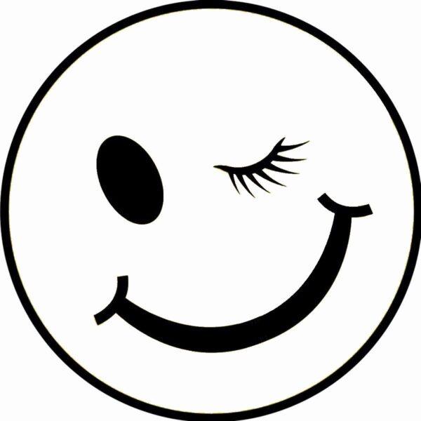 hình ảnh mặt cười đen trắng