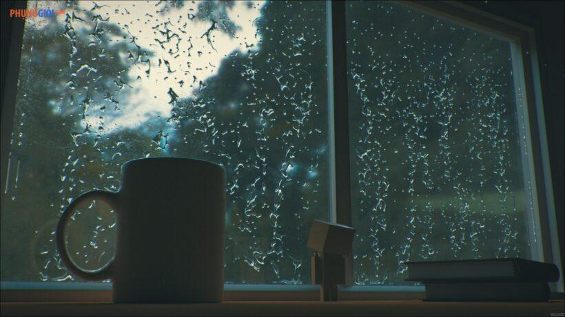 hình ảnh mưa đẹp buồn lãng mạn