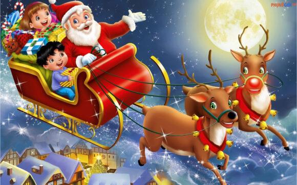 hình ảnh ông già Noel