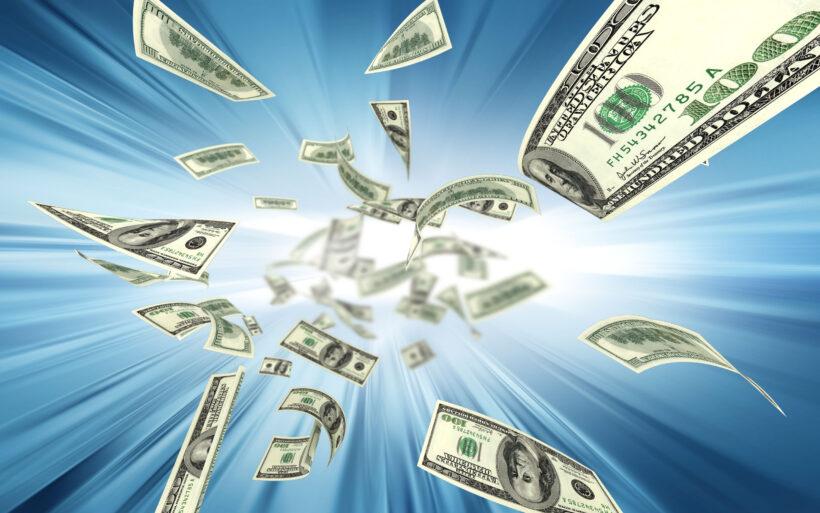 hình ảnh tiền 100 đô la Mỹ
