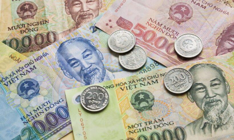 hình ảnh tiền xu tiền giấy việt nam
