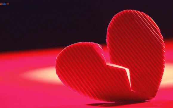 hình ảnh trái tim buồn