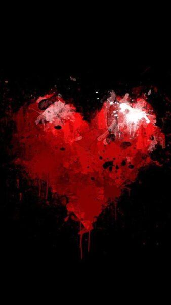 hình ảnh trái tim buồn cho điện thoại