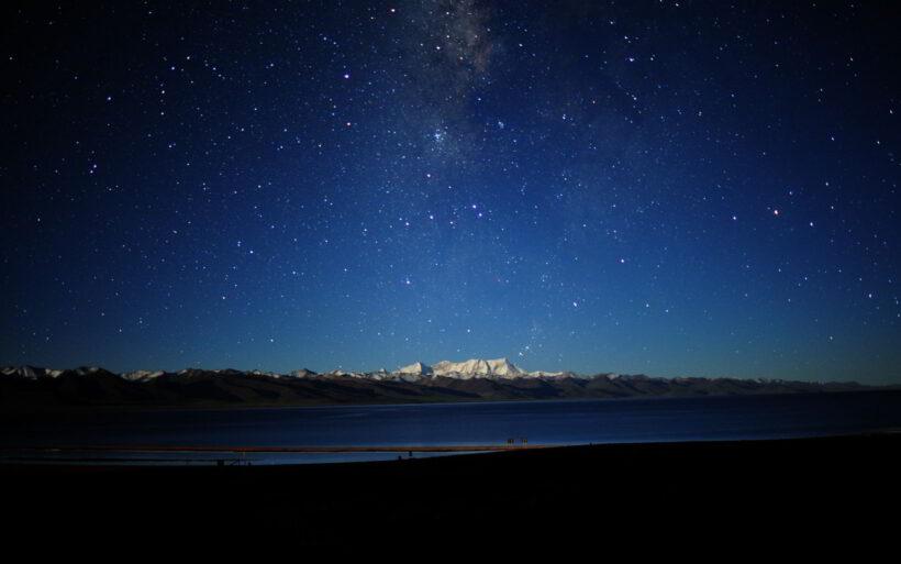 Hình ảnh trời đêm đẹp