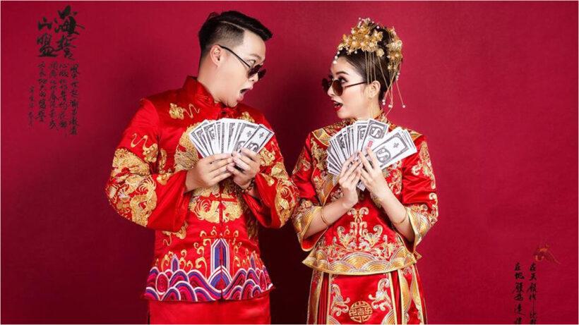 hình ảnh váy cưới Trung Quốc