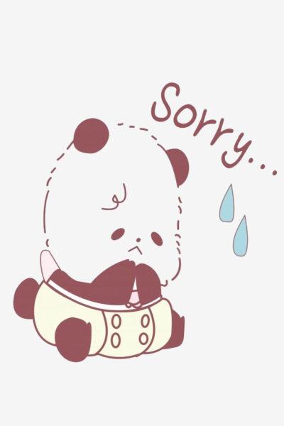 Hình ảnh xin lỗi người yêu xúc động