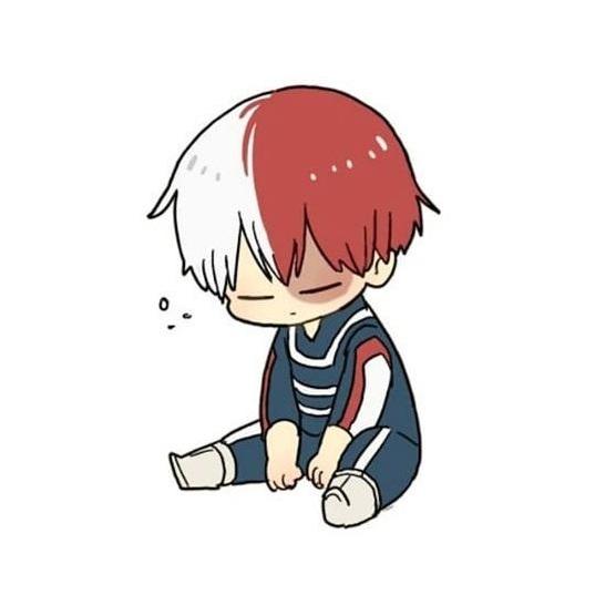 hình chibi buồn con trai buồn
