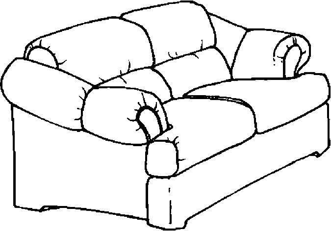 Hình mẫu chiếc ghế của gia đình cho bé tập tô