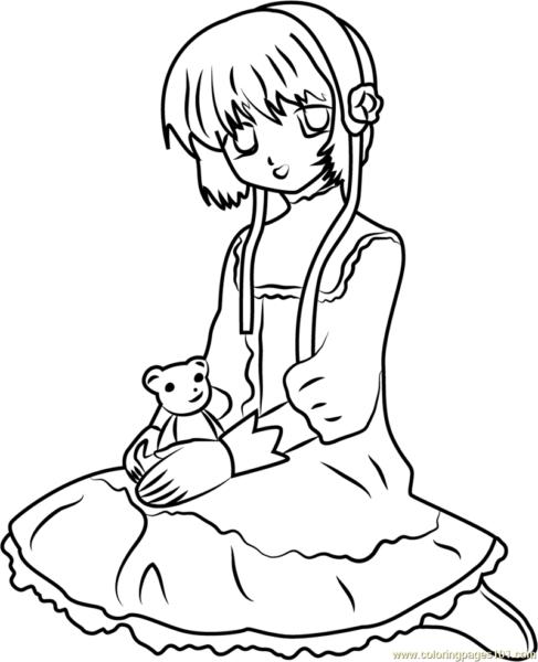 Hình vẽ đen trắng sakura - thủ lĩnh thẻ bài dễ thương nhất
