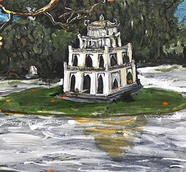 hồ gươm tháp rùa