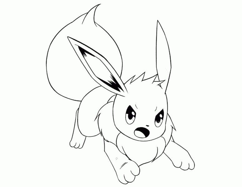 mẫu vẽ pokemon đẹp nhất cho bé tập tô màu