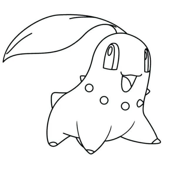 Tranh mẫu pokemon đẹp nhất cho bé tập tô