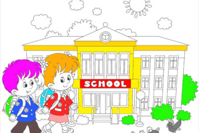 tranh tô màu cho bé 5-6-7 tuổi