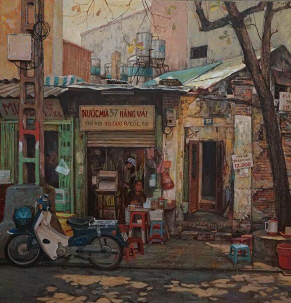 tranh vẽ về Hà Nội độc đáo