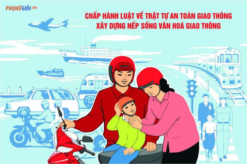 Vẽ tranh về đề tài an toàn giao thông