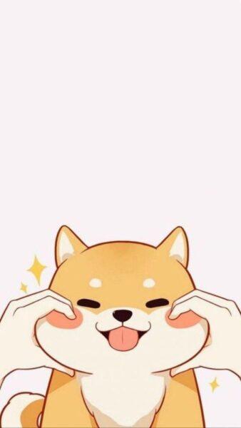 ảnh chú chó cute đáng yêu
