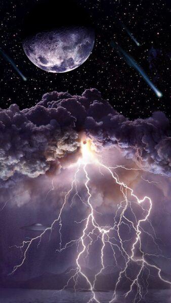 ảnh tia sét đẹp và vũ trụ