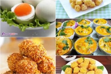 cách ăn trứng muối