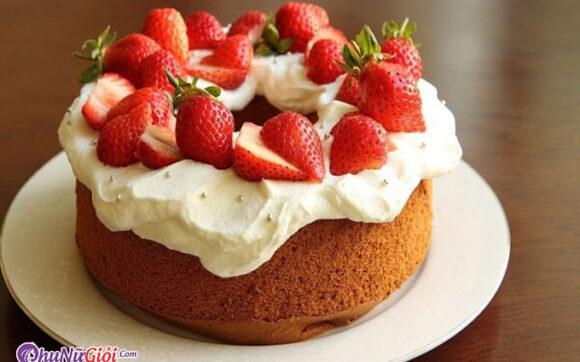 Cách làm bánh kem sinh nhật tại nhà đơn giản