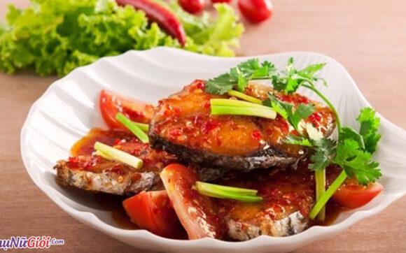 Cách làm cá sốt cà chua ngon