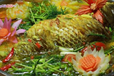 Cách làm món cá chép om dưa