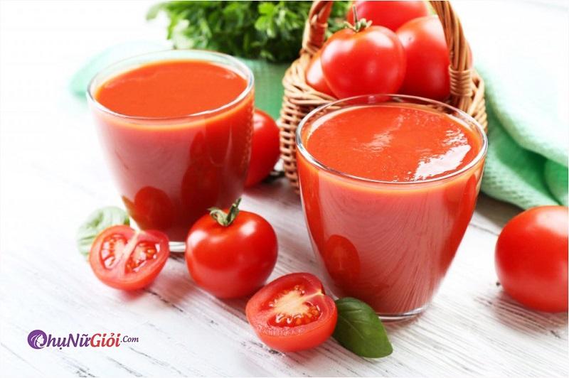 Cách làm sinh tố cà chua thơm ngon