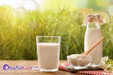 cách làm sữa gạo