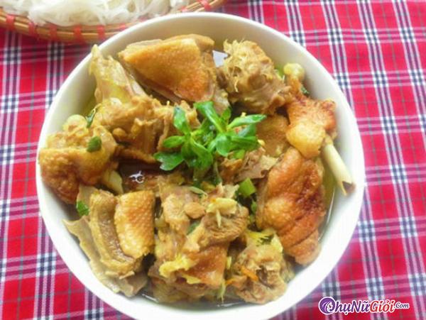 cách làm vịt nấu giả cầy miền Trung