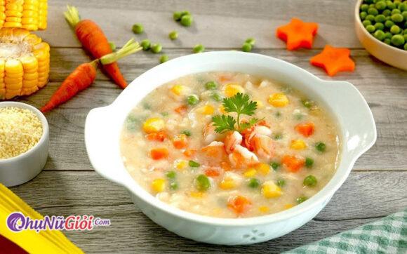 cách nấu súp tôm thơm ngon bổ dưỡng