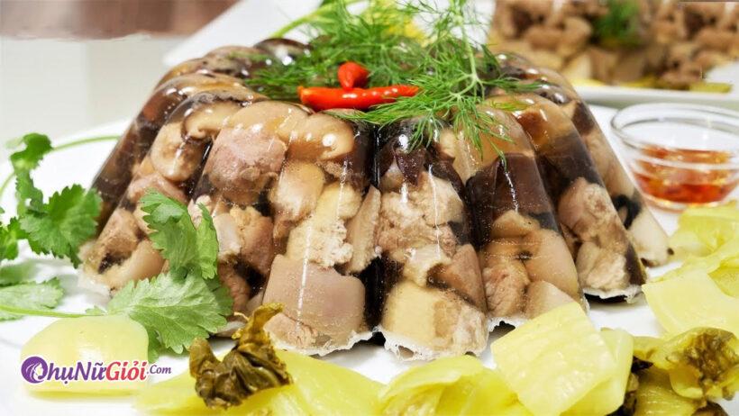 Cách nấu thịt đông thơm ngon, hấp dẫn