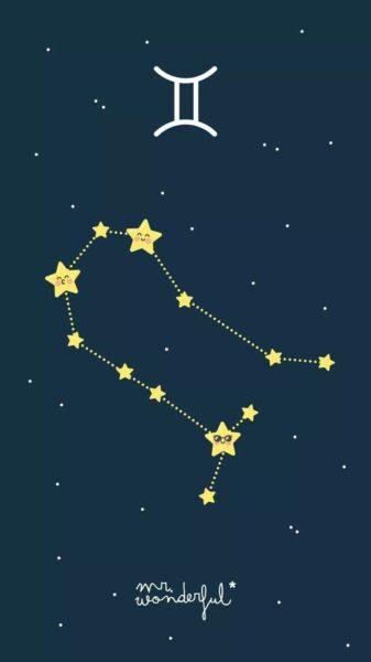 chòm sao hoàng đạo - hình ảnh cung song tử đẹp
