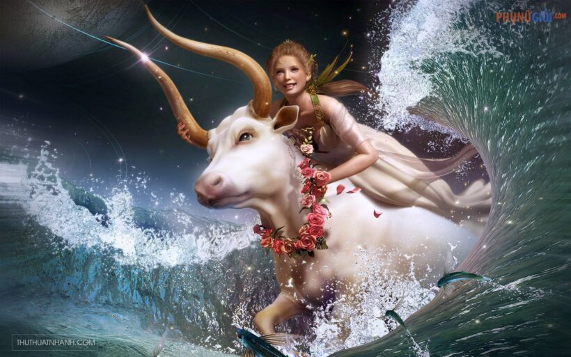 Hình ảnh cô gái Bạch Dương hùng dũng
