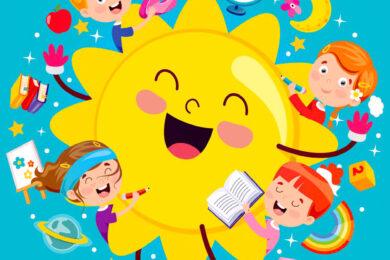 hình ảnh ông mặt trời
