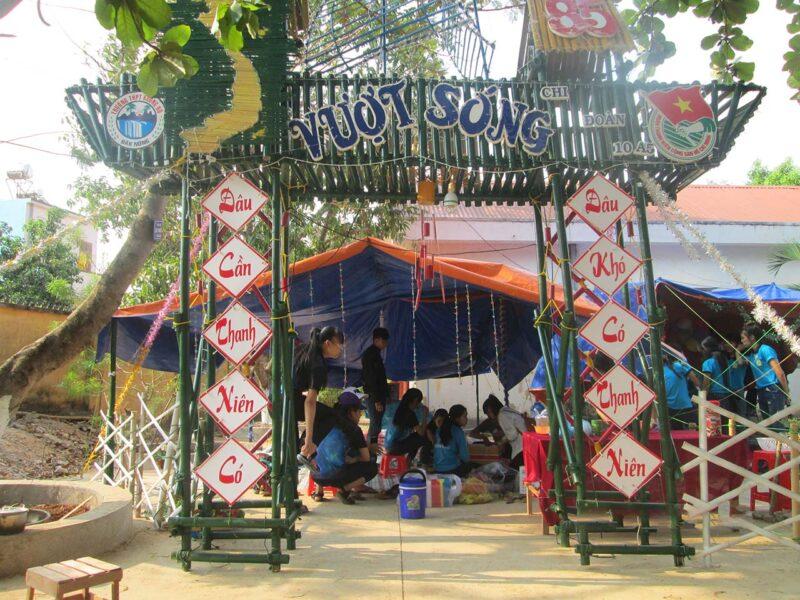 hình ảnh thiết kế cổng trại đẹp