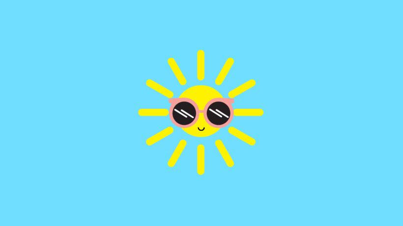hình ông mặt trời cute