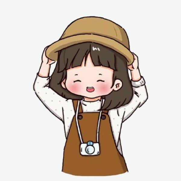 hình vẽ cute anime girl