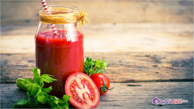 Lưu ý khi sử dụng sinh tố cà chua