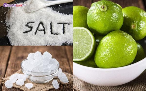 nguyên liệu làm chanh muối