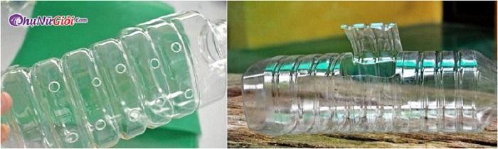 nguyên liệu làm giá đỗ bằng vỏ chai nhựa