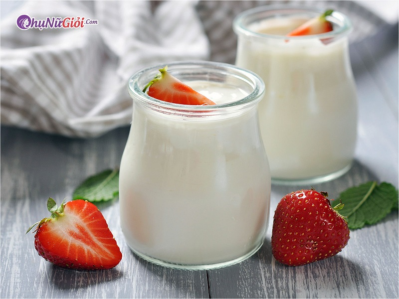 Nguyên liệu làm kem xoài sữa chua