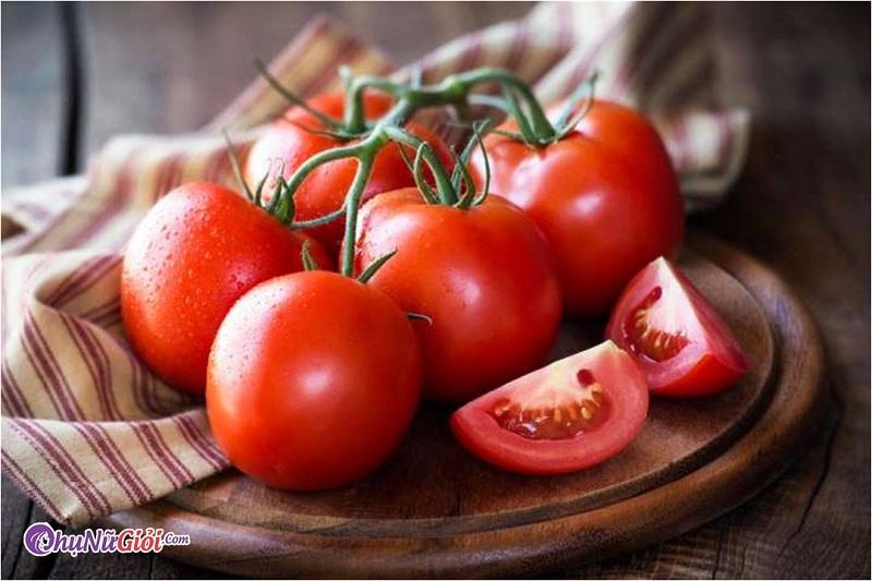 Nguyên liệu làm sinh tố cà chua thơm ngon